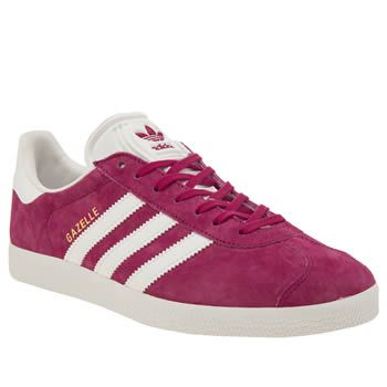 Adidas Pink Gazelle Suede Womens Trainers We cant get enough of ...
