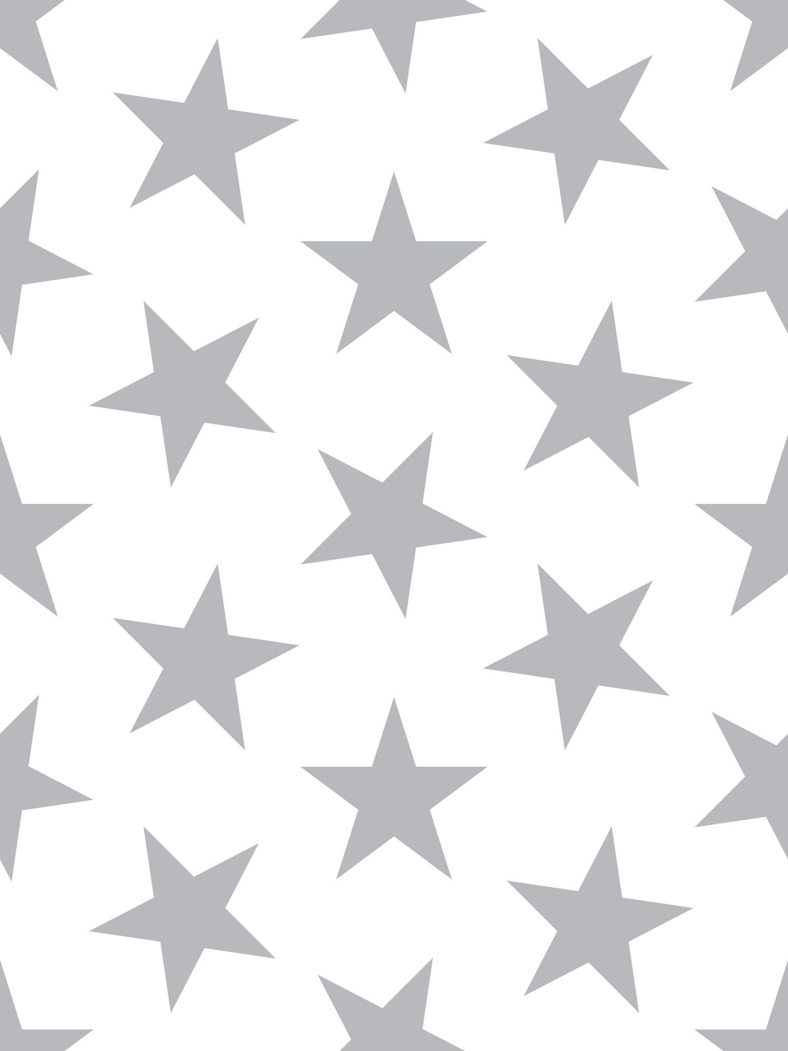 boys room lucky star wallpaper in silver metallic by sissy marley for jill malek - Metallic Kids Room Interior