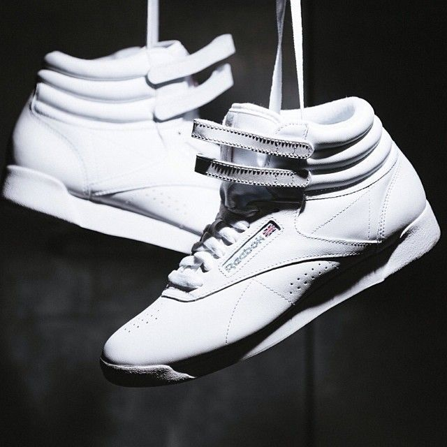 76eefecd96a Reebok Freestyle Hi (weiß) - 43einhalb Sneaker Store Fulda