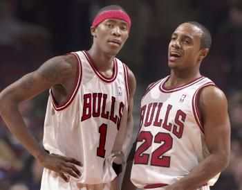 70c00f7c Jamal Crawford and Jay Williams Jay Williams, Chicago Bulls, Nba, Basketball