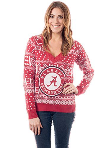 Womens University Of Alabama Sweater X Small Tipsy Elves