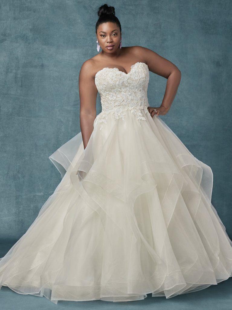 Anastasia By Maggie Sottero Wedding Dresses And Accessories Sottero Wedding Dress Wedding Dresses Plus Size Princess Ball Gowns [ 1024 x 768 Pixel ]