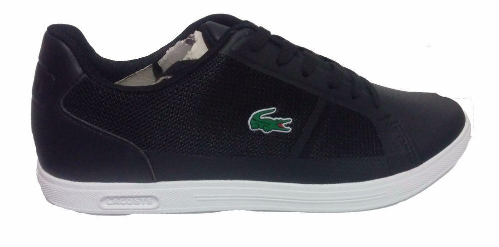 Men's Lacoste Strideur 116 1 Blk Spm mesh upper casual sneakers  7-31SPM0013024 #Lacoste