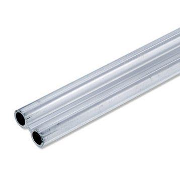 Profilé Tube En Aluminium 2x65cm 0105m Leroy Merlin