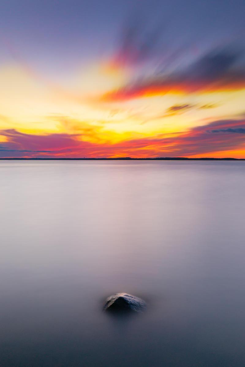 Wallpaper Day Sunset Landscape Horizon Lake Calm For Hd 4k Wallpaperday For Desktop Mobile Phones Free Stock Photos Design Pictures Landscape Aesthetic