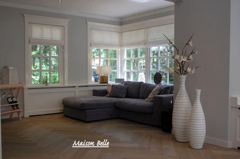 Afbeeldingsresultaat voor woonkamer muur taupe | gordijnen ...