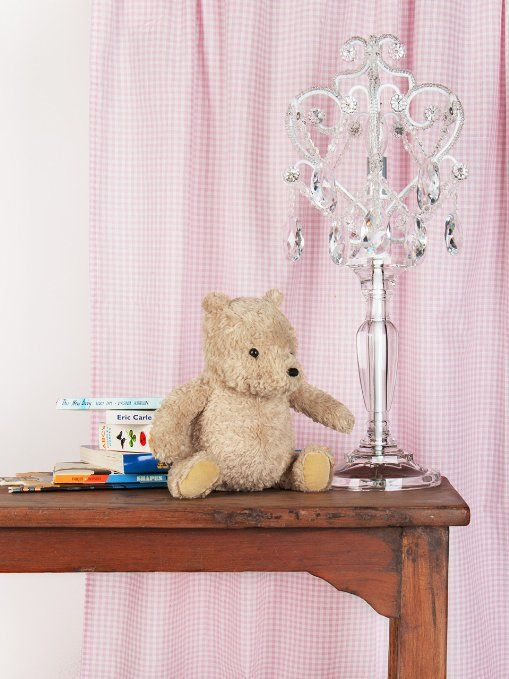 Amazon.com: Tadpoles Table Lamp Chandelier in White Diamond: Home ...