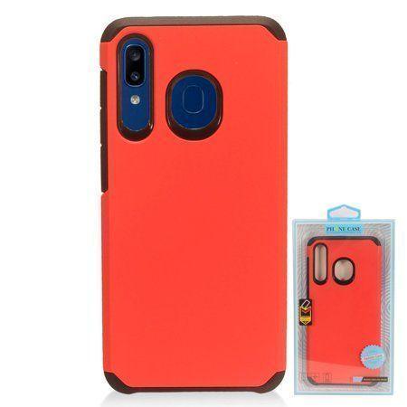 MUNDAZE Samsung A20/A50 Case Cover Slim Double Layered Red - Walmart.c