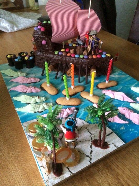 Piratenkuchen 2019 Kalas For Nya Bebisar Cake Birthday Ja Torte