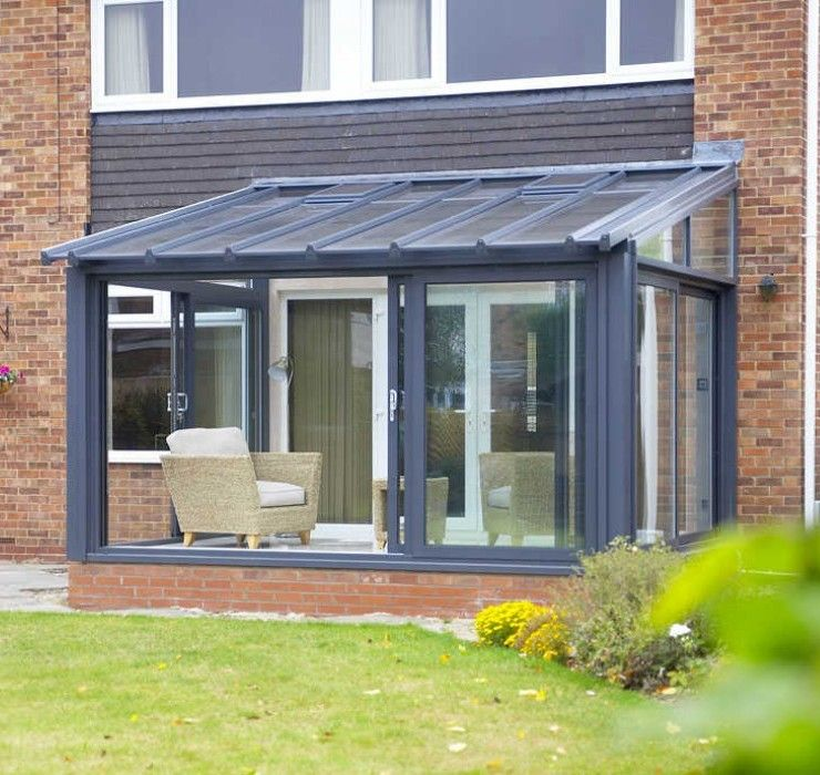 Lean To | Lean To Conservatory | EYG Conservatories ... on Patio Lean To Ideas id=57944