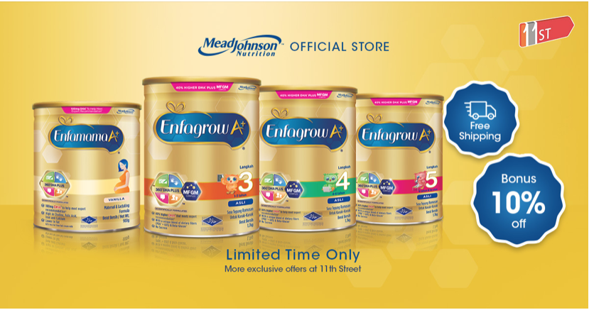 Mead Johnson Nutrition Official Store Shop Online At 11street Malaysia Variety Of Mead Johnson Nutrition Official Kids Nutrition Nutrition Nutrition Labels
