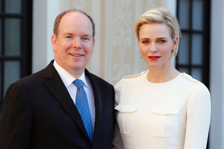 Pin for Later: 16 Celebrity Couples Celebrating 5 Years of Marriage Prince Albert of Monaco and Charlene Wittstock Since their grand three-day wedding, the couple have become parents to twins Jacques and Gabriella.