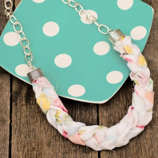 This easy DIY necklace is a great addition to any summer outfit! (via My So Called Crafty Life)