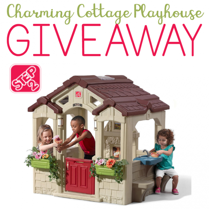 8cde75a87e1a6 Find out more about the Step2 Charming Cottage Playhouse and enter to win your  own Step2 Charming Cottage Playhouse too!