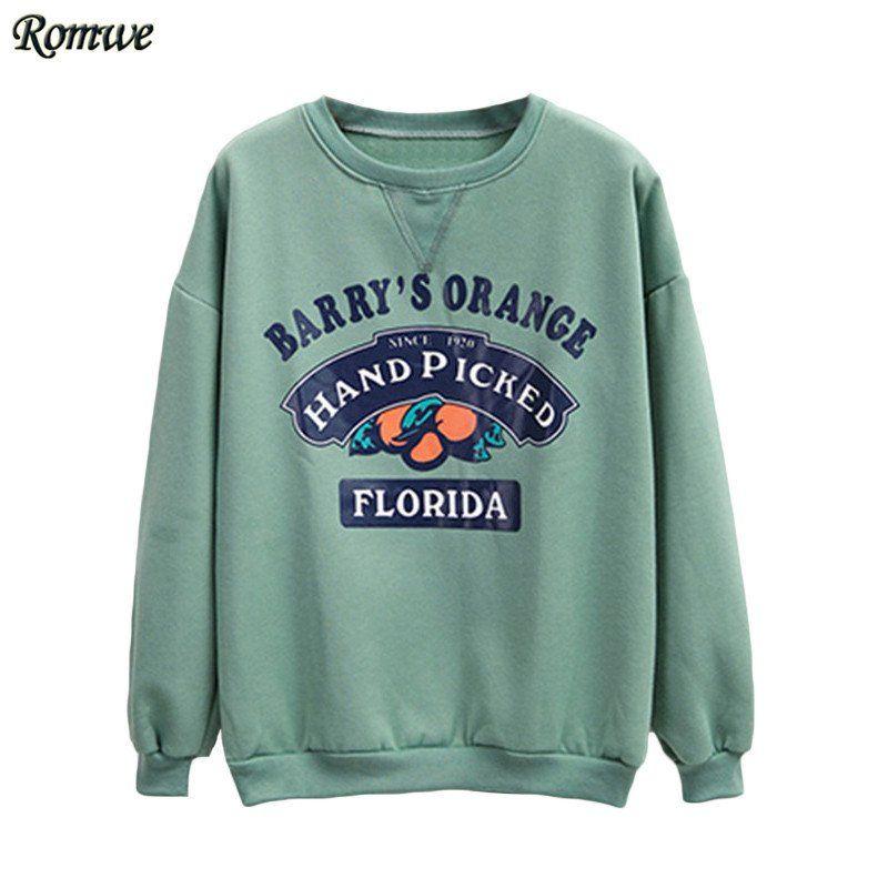 buy popular bb12c f2d07 Barrys Orange Hand Picked Florida Loose Sweatshirt