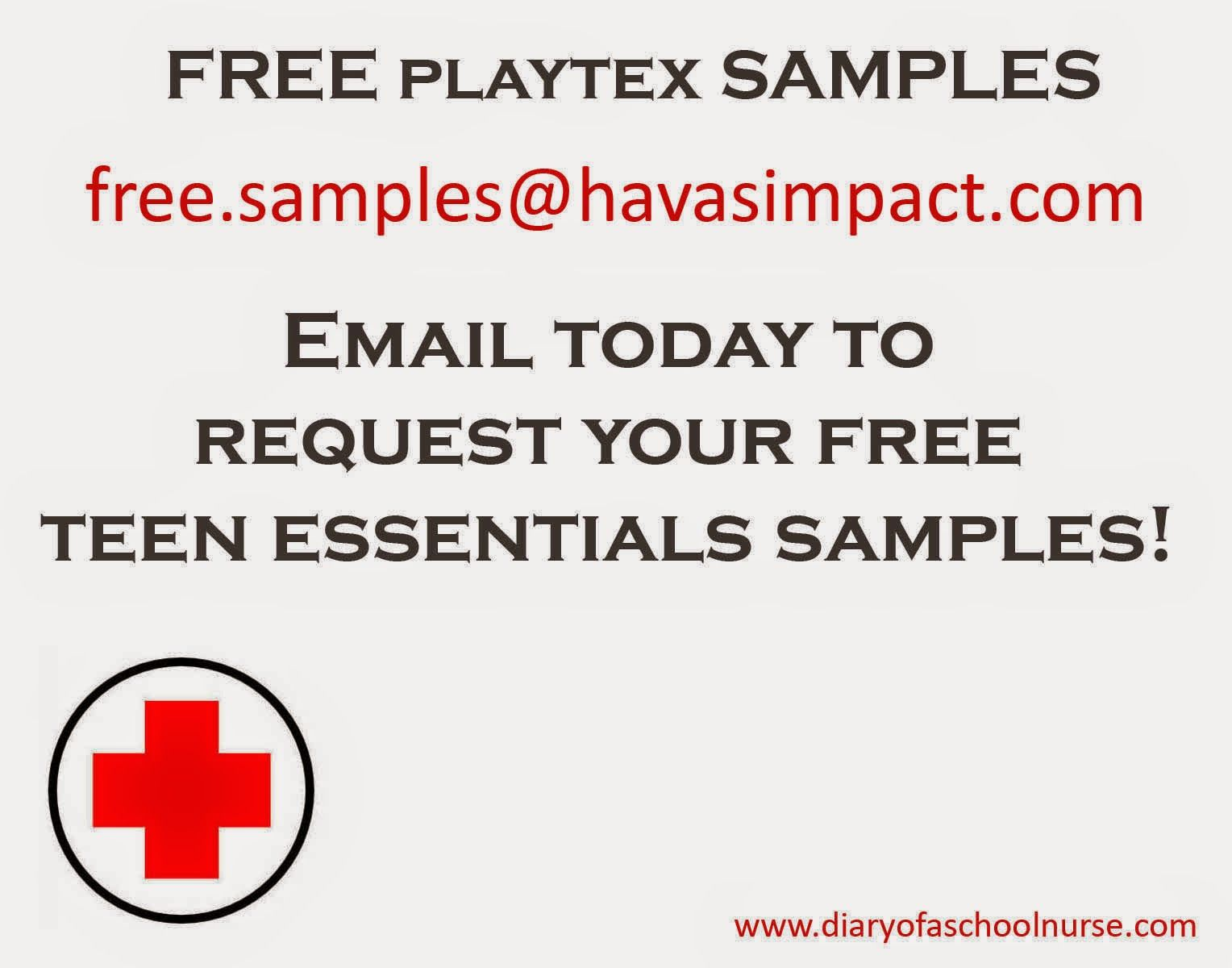free sample for nurses