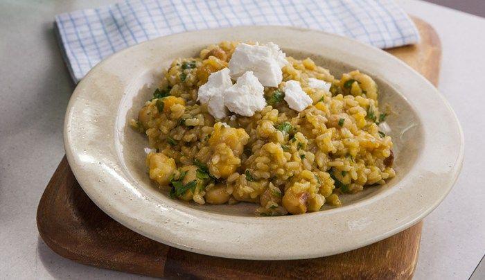 Pumpkin and Macadamia Nut Risotto - Good Chef Bad Chef  This looks yum!