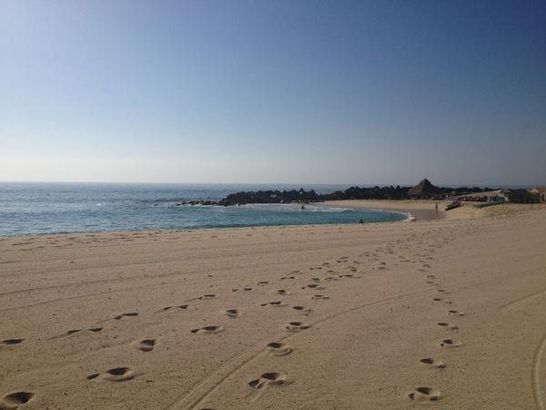 @georginadruck  @EnDondeCorrer a la orilla del pacifico Los Cabos BCS