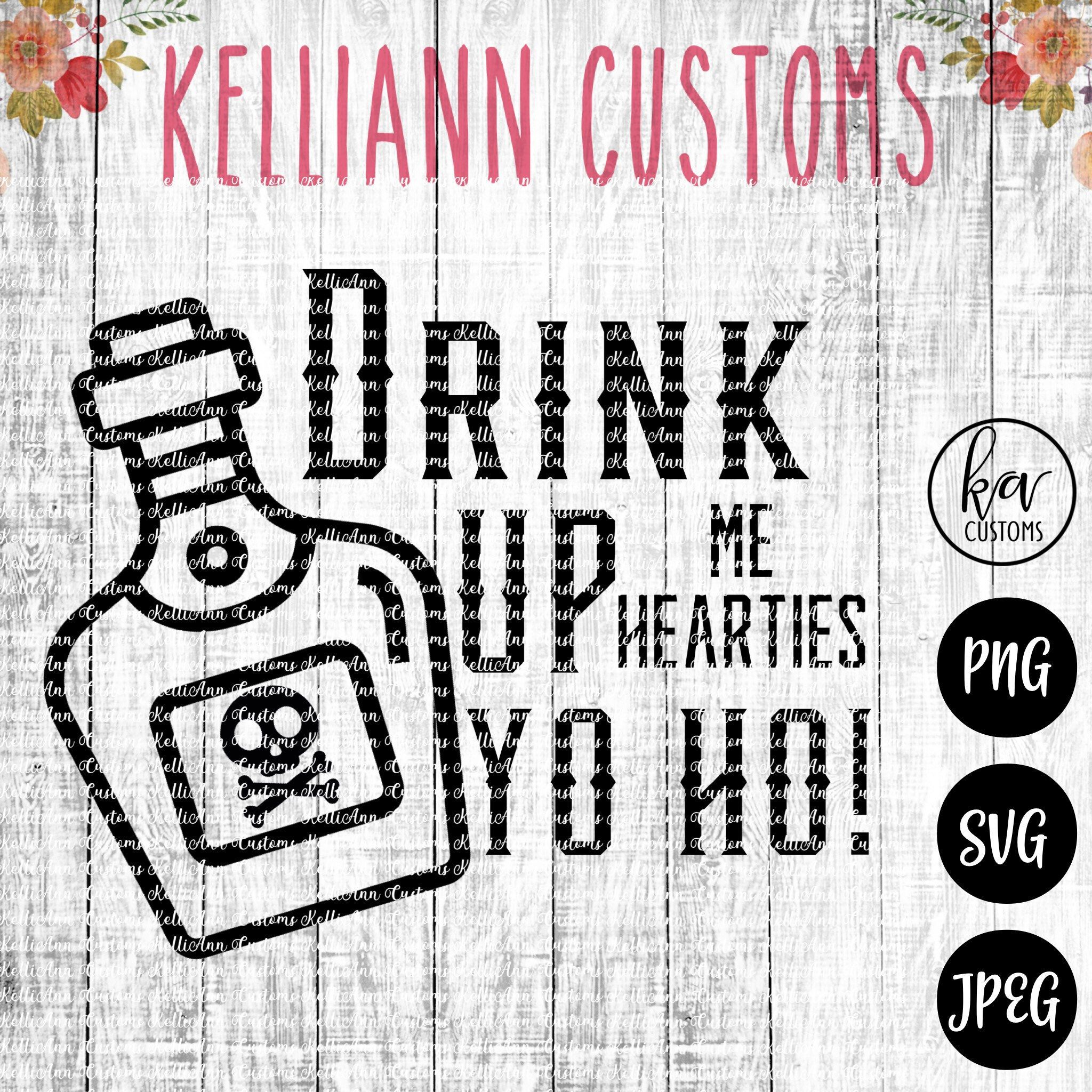Drink Up Me Hearties, Disney Cruise svg, SVG, Cut file