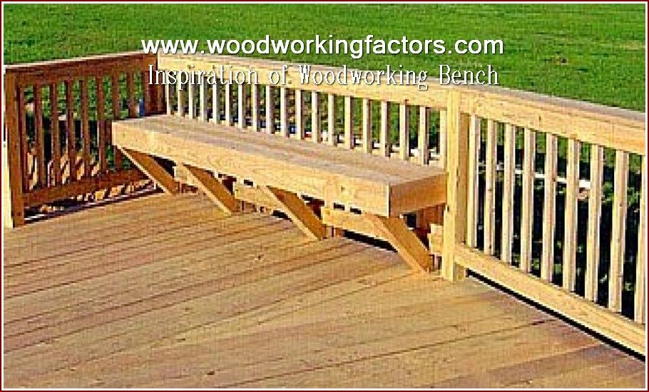 Wood Shop Arrangement Deck Seating Deck Bench Cool Deck