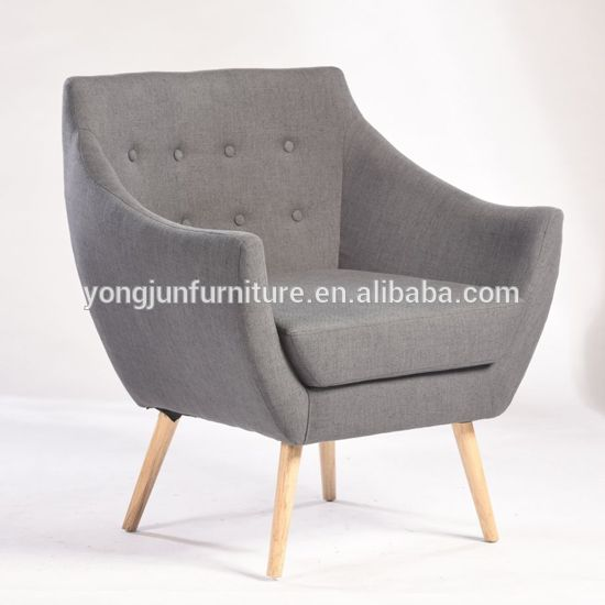 Fabric Restaurant Recliner Chair Single Seater Sofa Chairs Yj 7024 Single Seater Sofa Furniture Single Sofa