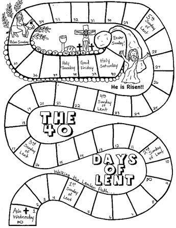 Printable Lenten Calendar For Kids Free 40 Days Of Lent Kids