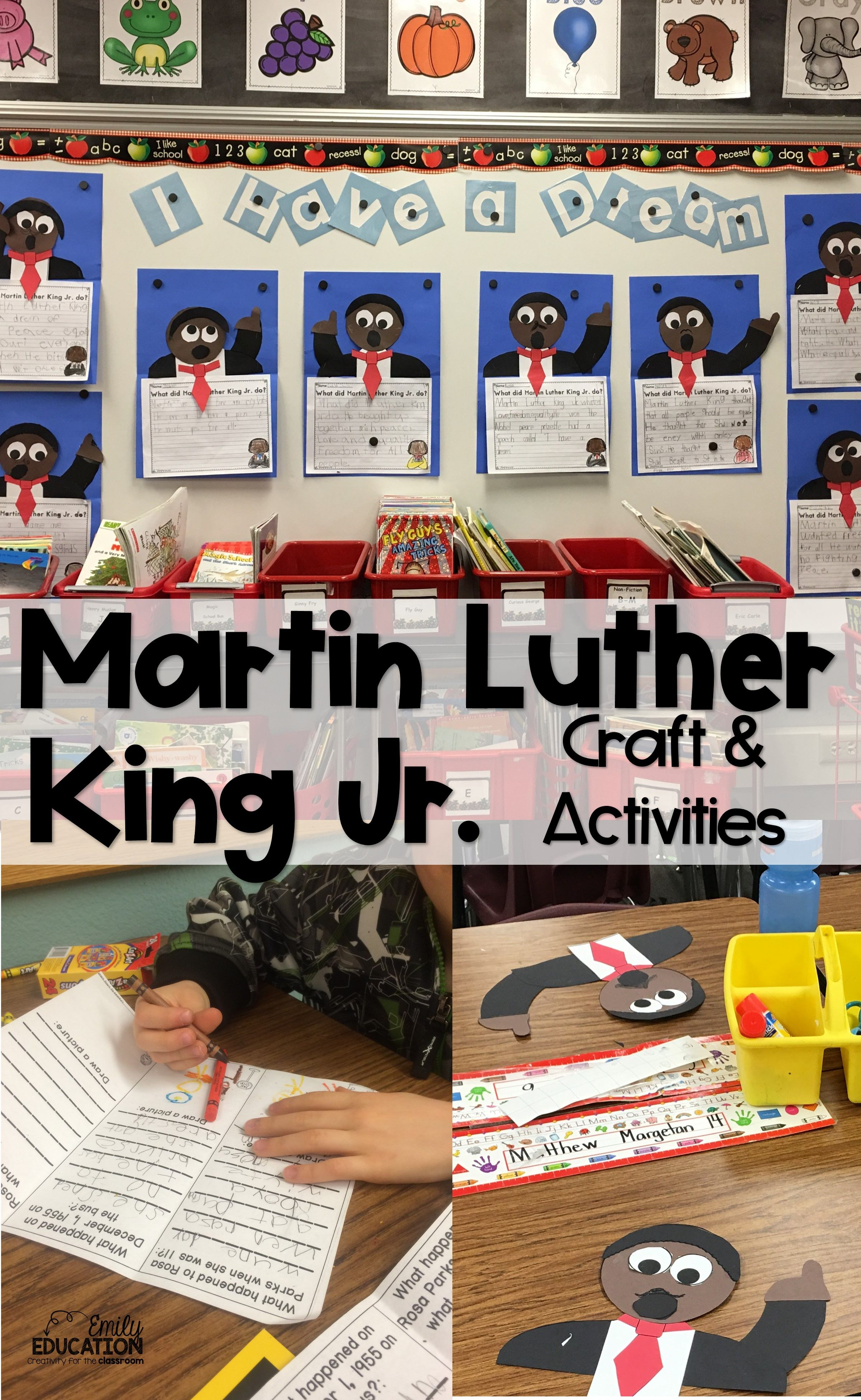 Martin Luther King Jr Craft And Activities
