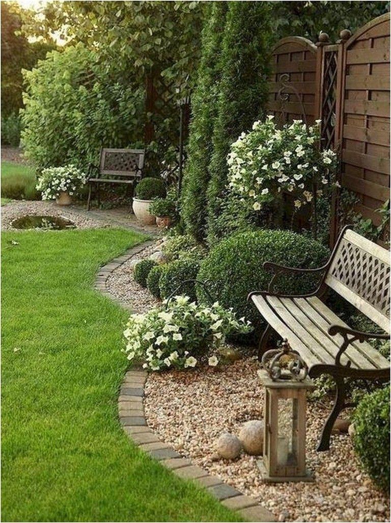 70 Backyard Landscape Architecture Inspirations Rock Garden