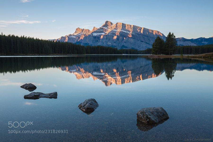 Sunrise in the Rockies by larachristensen