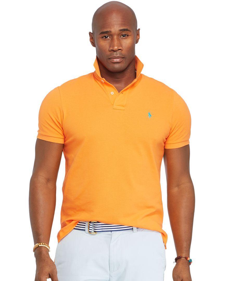 Polo Ralph Lauren Big and Tall Classic Mesh Polo Shirt