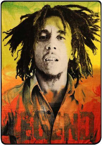 Edredon Bob Marley.Trippystore Blankets Bob Marley Legend Bob Marley Nesta Marley