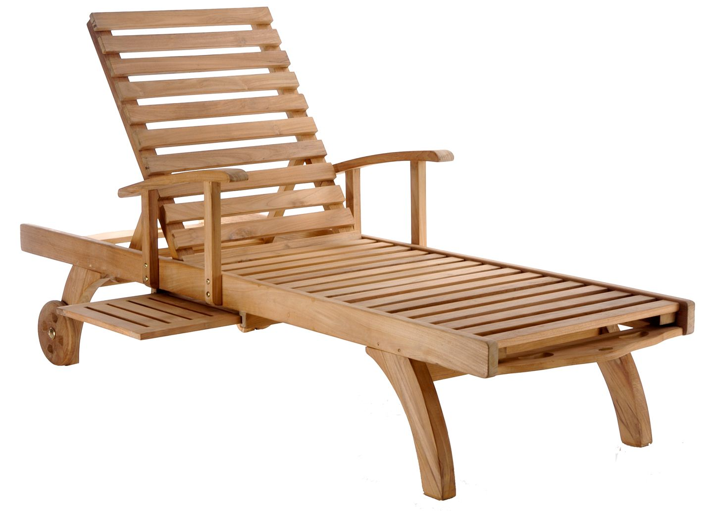 Teak Wood Bahama Pool Lounger by Chic Teak only 717.38 in