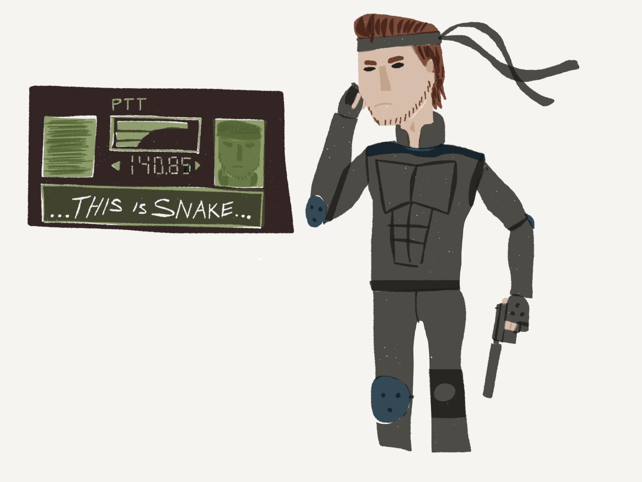 Drew some Snake on my flight home #MetalGearSolid #mgs #MGSV #MetalGear #Konami #cosplay #PS4 #game #MGSVTPP