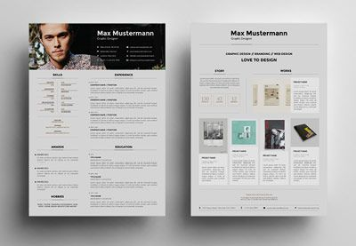 Creative Resume Templates To Land A New Job In Style Design
