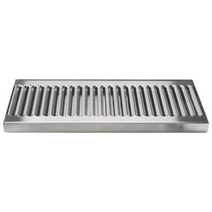 Beer Drip Tray 12 Stainless Steel Surface Mount Drip Tray No Drain Drip Tray Beer Drip Tray Stainless