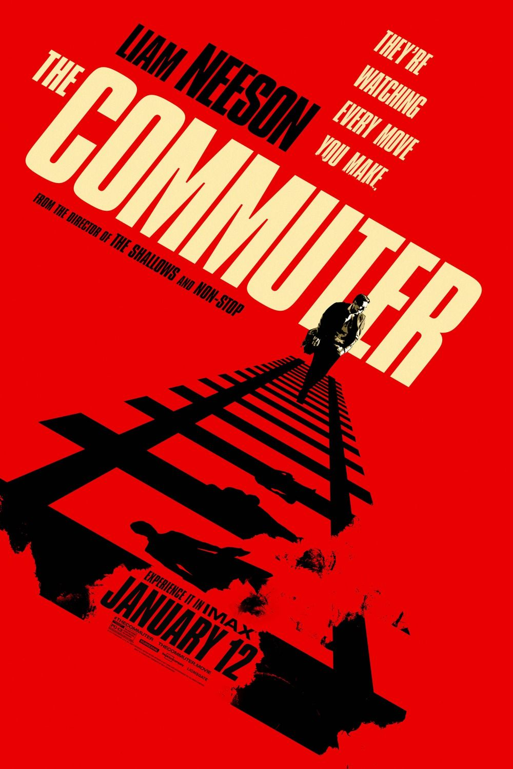 The Commuter Movie Poster 14   Posters   Pinterest