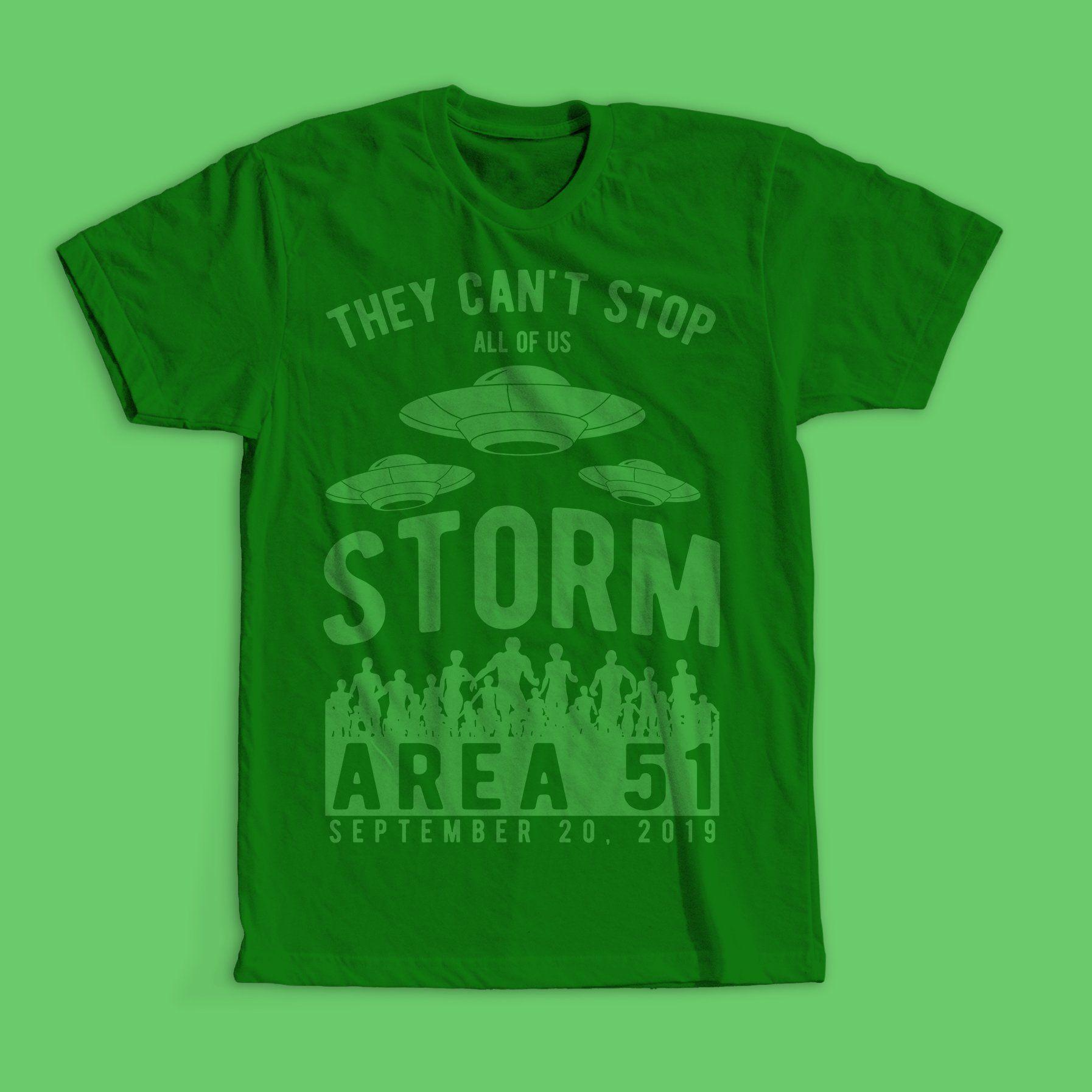 Storm Area 51 T Shirt Design Tshirt Designs Shirt Designs Shirts