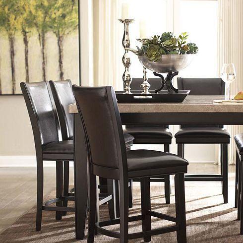 Dining Rooms Villa Sonoma Pedestal Table Dark Dining Rooms