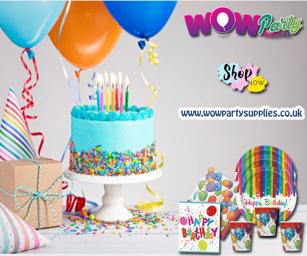 Wow Party Supplies Offers Affordable Supplies For Birthday Decorations Uk Party Supplies Cheap Party Supplies Birthday Decorations