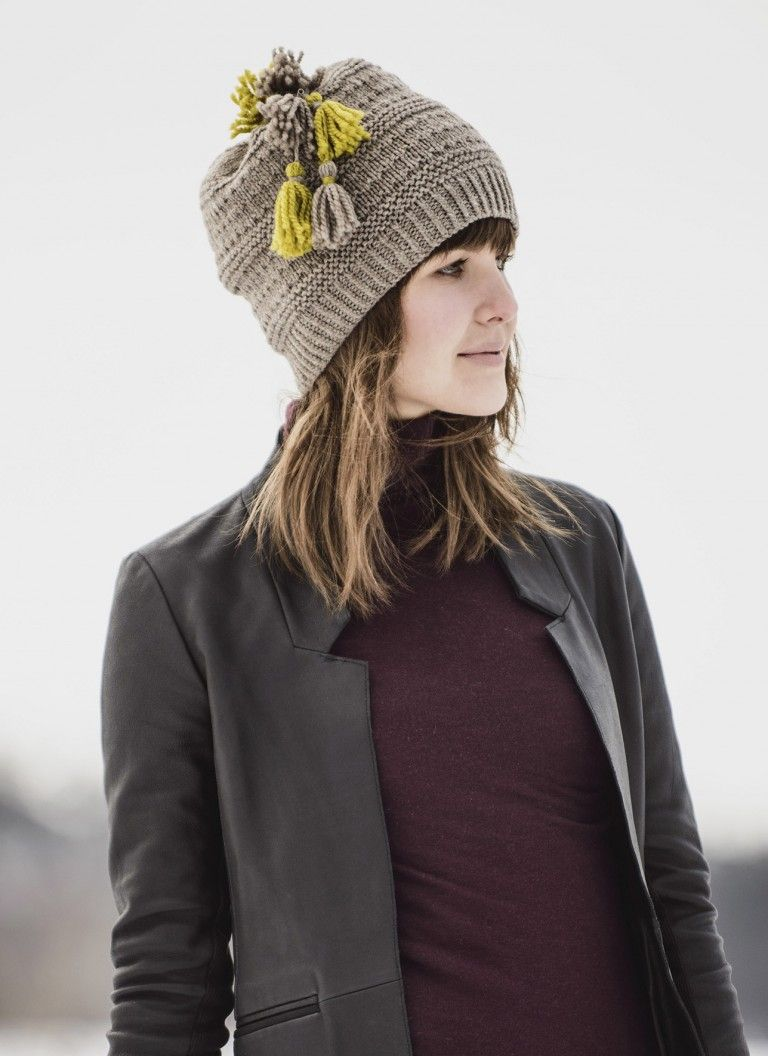 Pin by renee evans on ultimate craft knitting pinterest bands of seeded stockinette and garter stitch ridges give structure and texture to the tonka bay toque knit on circular needles in warm but never scratchy dt1010fo