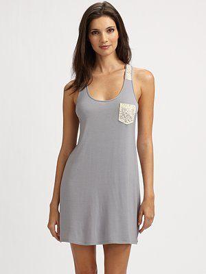 Loungewear - Cotton and Lace