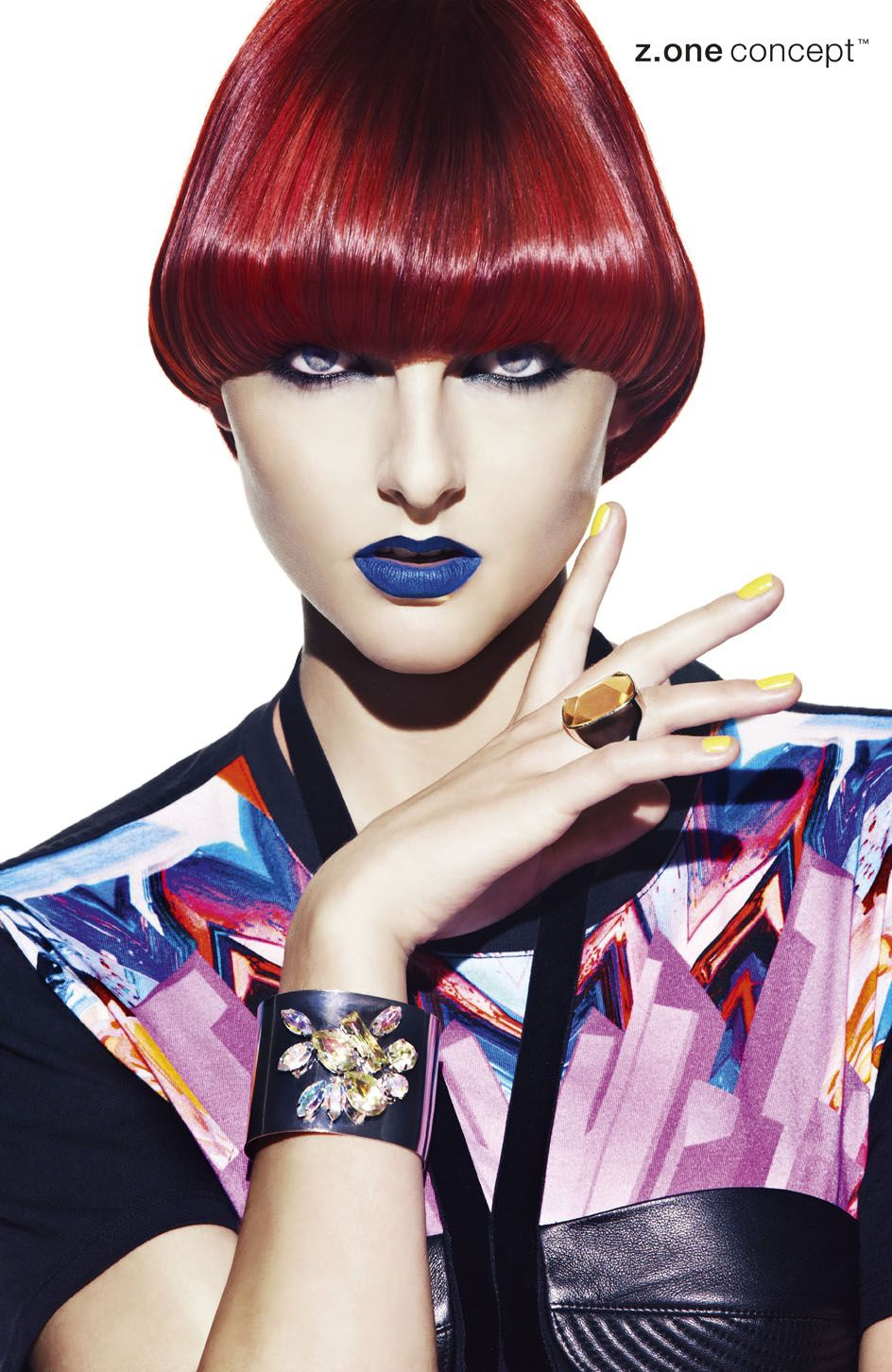 No inhibition fw new wave collection hair fashion hair