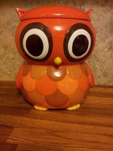 My New Cute Owl Cookie Jar Love It