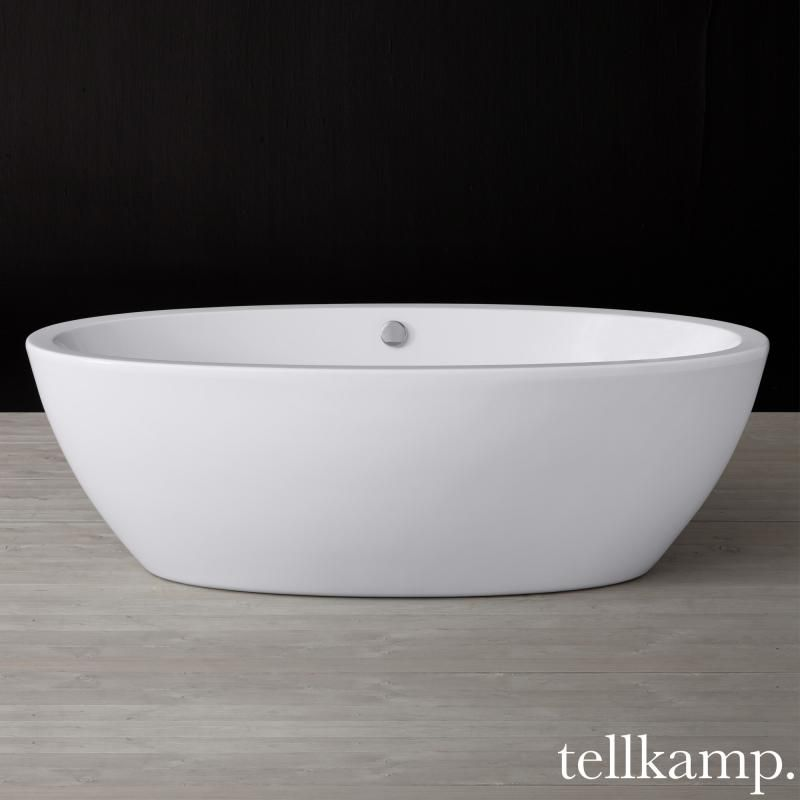 Freistehende badewanne oval günstig  Tellkamp Space freistehende Oval Badewanne | Haus | Pinterest ...