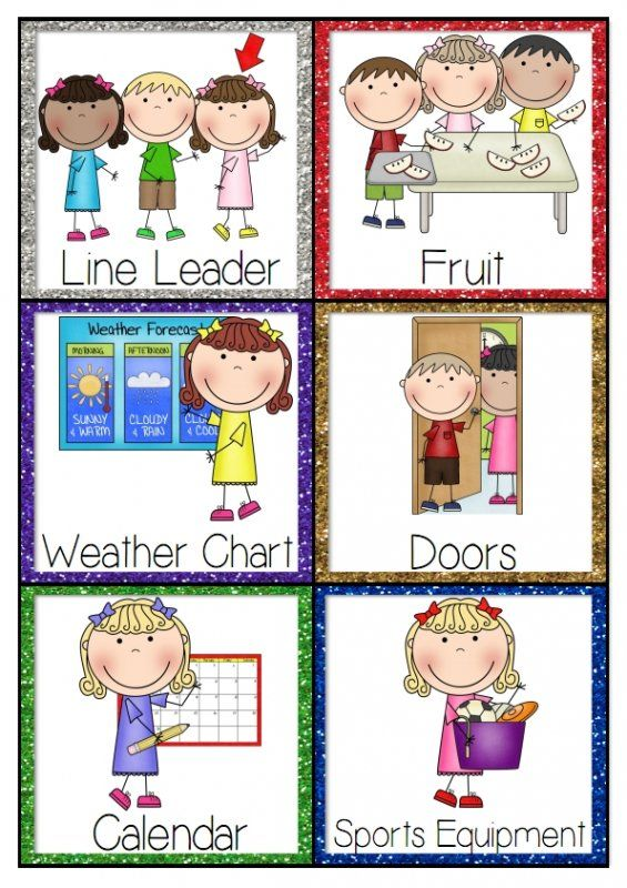 Here are job cards to use on your class jobs helper display they also do you assign classroom helpers in room  enough rh pinterest