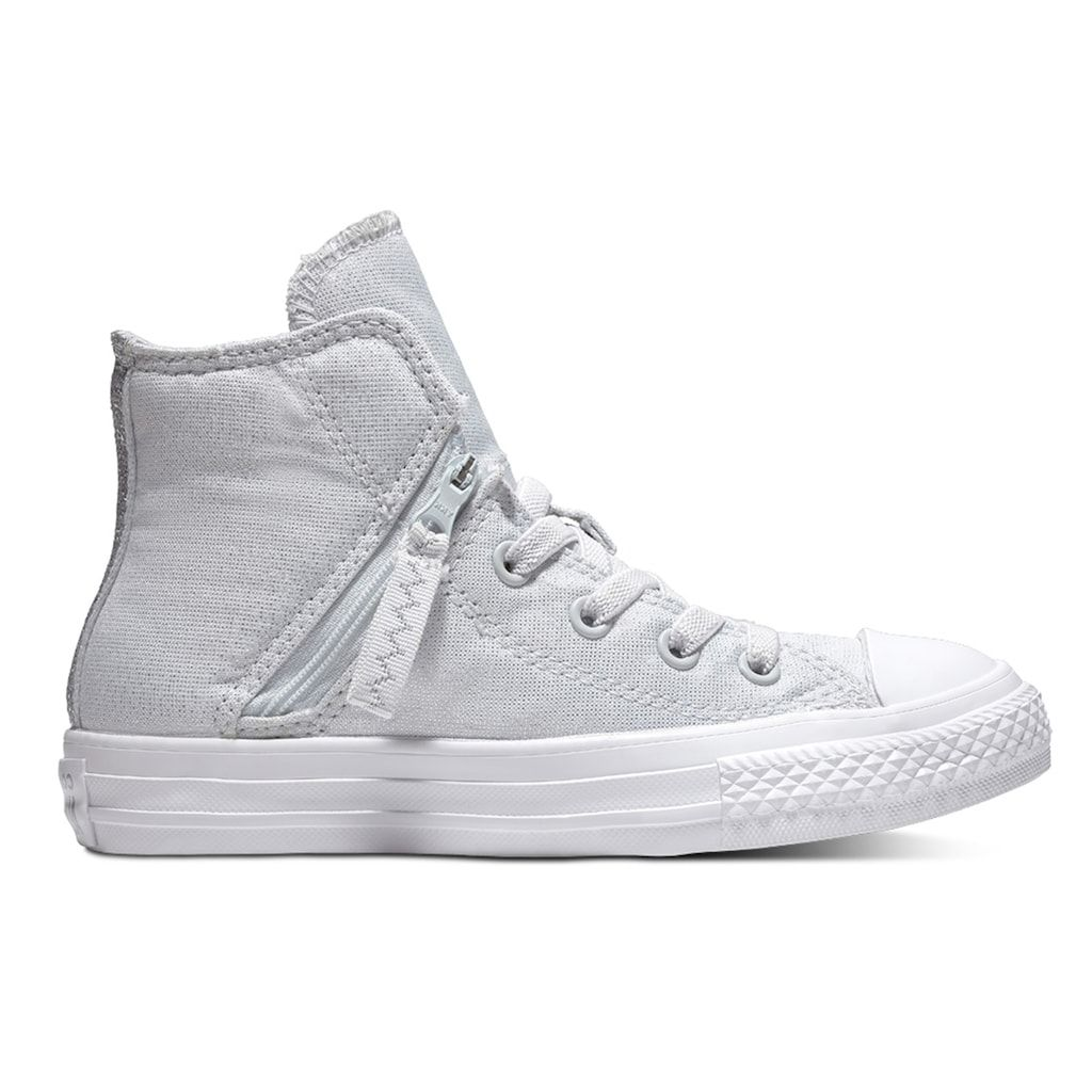 Converse Kids  Chuck Taylor All Star Pull Zip High Top Shoes ... 2e84f0b66