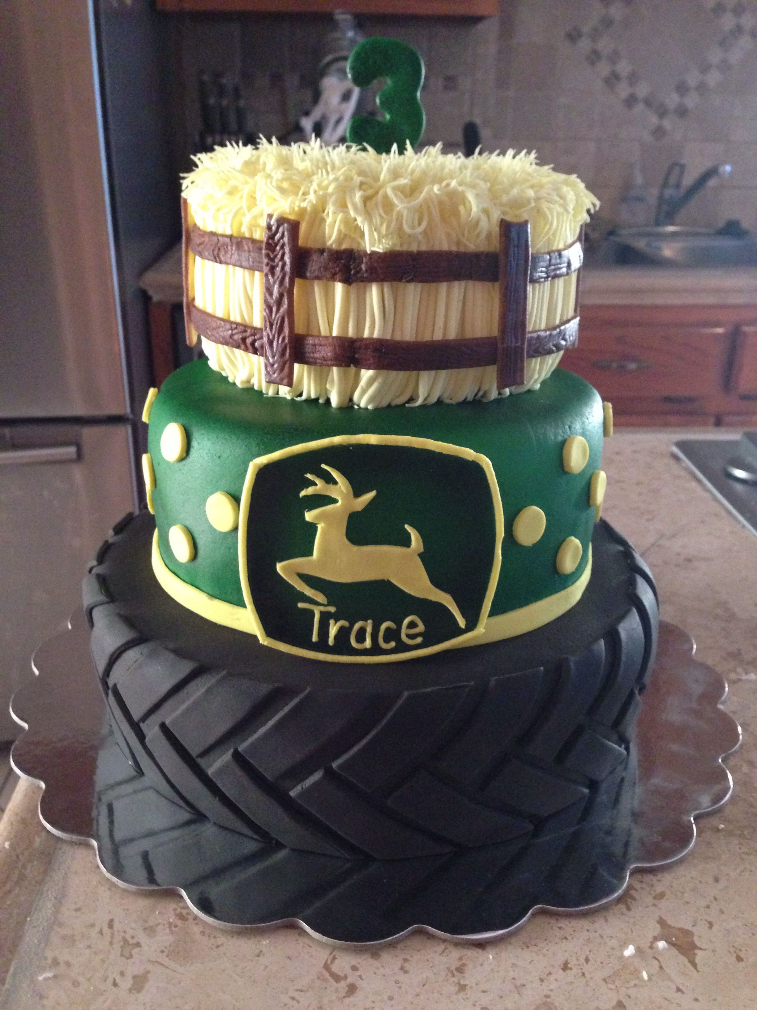John Deere Cake I Made Mallory Gray 50 Cakes Of Gray
