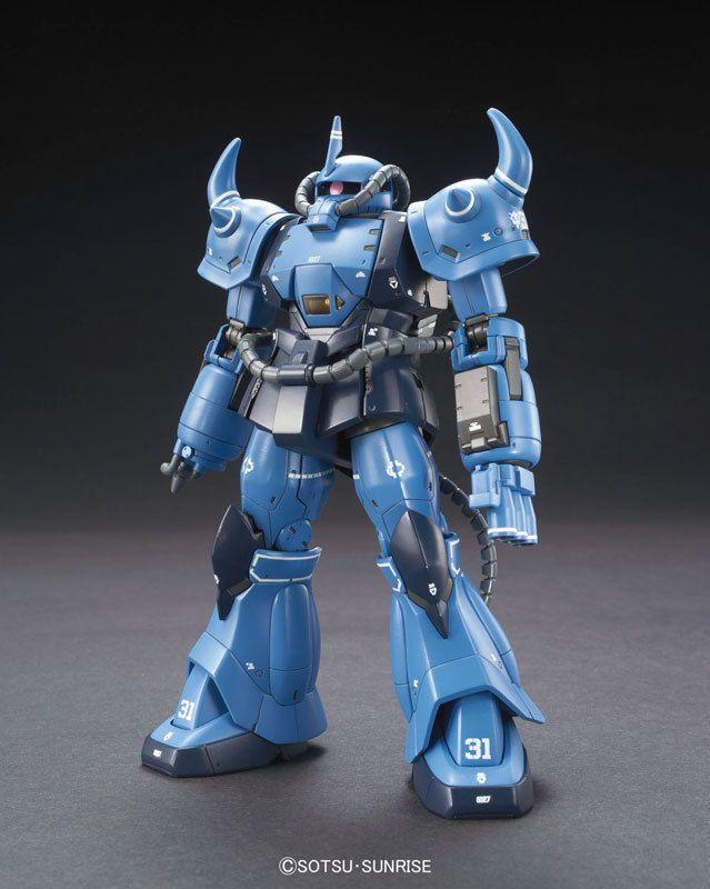 YMS-07B-0 Prototype Gouf Tactical GUNPLA HG High Grade 1//144 Gundam The Origin