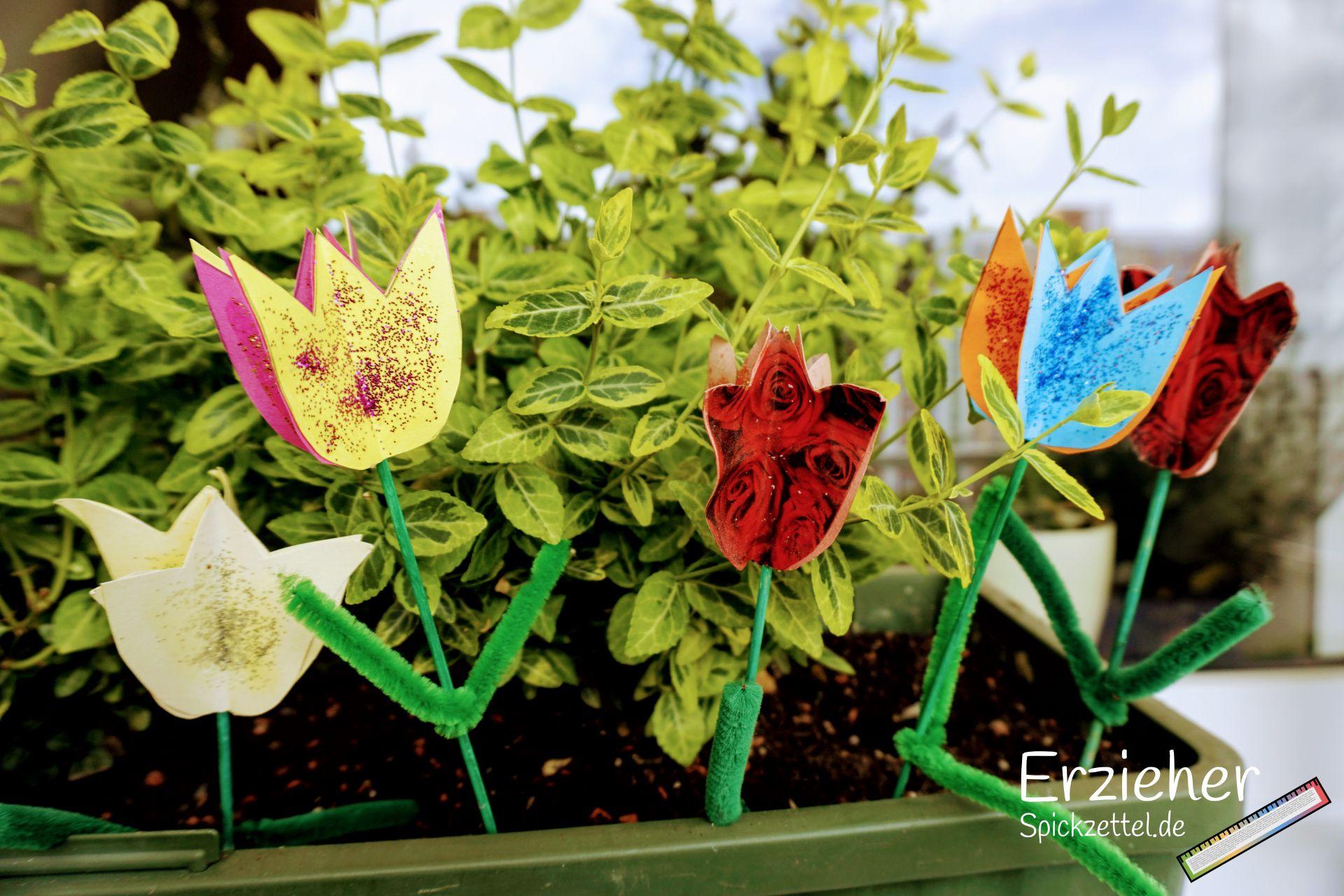 3d Blumen In 2020 Basteln Blumen Bildungsbereiche