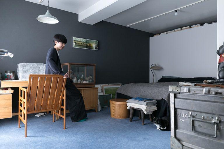 アートのある暮らし 坂倉準三設計の集合住宅を自分でデザインして